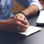 Effective Job Postings Man Writing
