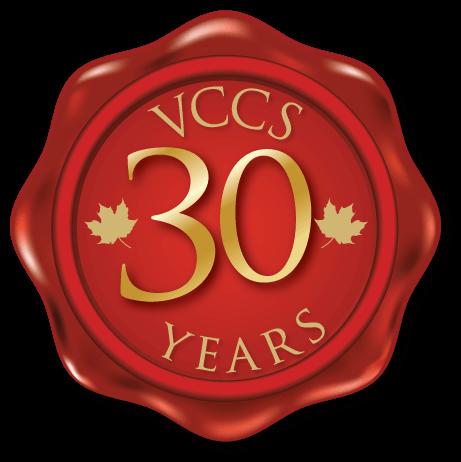 VCCS 30 Anniversary logo